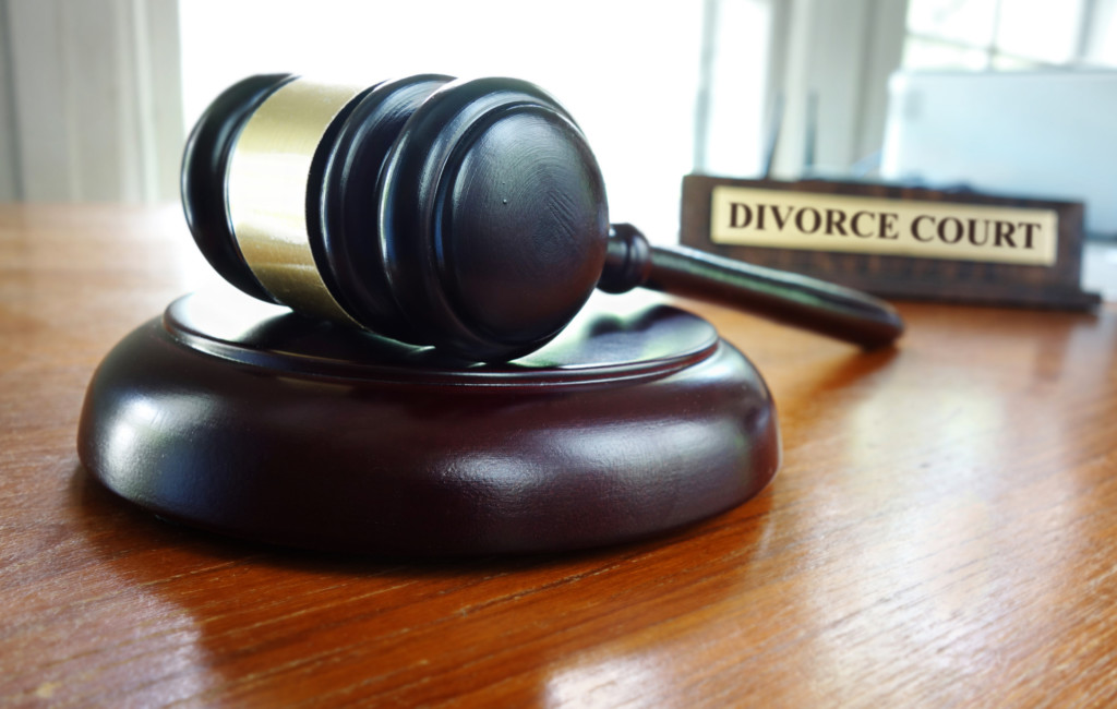 divorce case